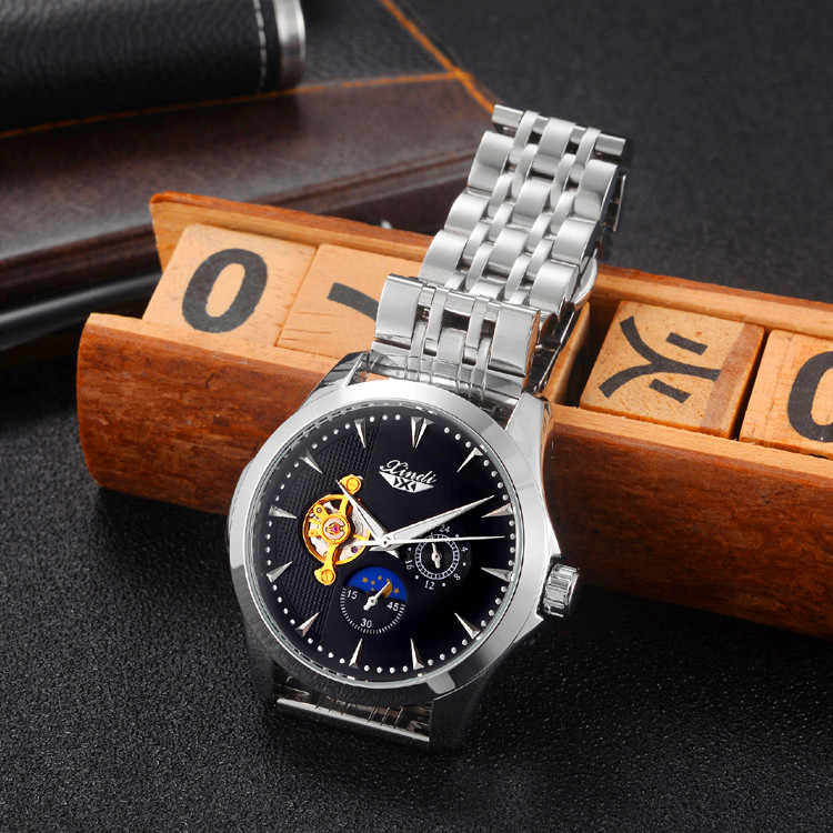 2019 S watch Rlo dz Auto Date Week Display Luminous Diver Watches Stainless Steel Wrist gift Male Clock in Women 39 s Watches from Watches