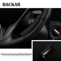 BACKAR Universal Car Styling Steering Wheell Buttons Wireless Control Manipulator For Renault Acura VW Hyundai Skoda Accessories