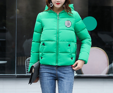 2017 Short Slim Parka Winter Jacket Women Clothing Warm Jackets Cotton Parkas For Women Winter Jacket Coat Female