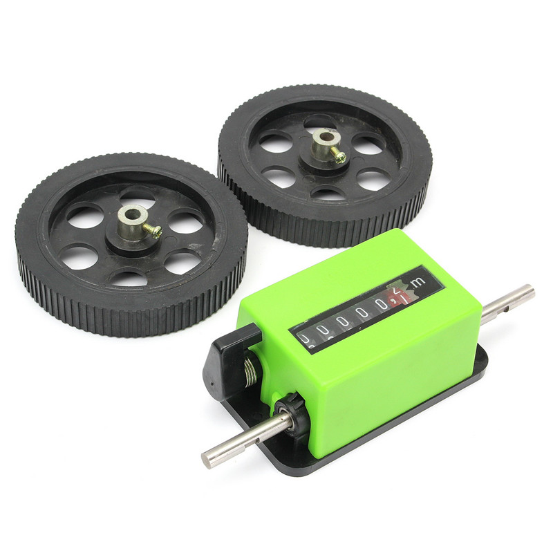 New Arrival Meter Counter Rolling Wheel Mechanical Length Counter 200times/min Textile Printing & Dyeing Meter Counter  цены