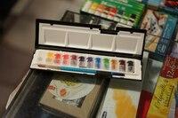 جديد وصول daler-rowney الفنية الفنان مستوى تركيز الصباغ المائية الصباغ 12 لون الصلبة عالية