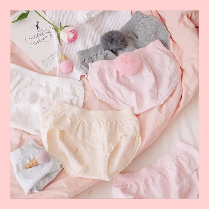 Humble Rabbit Tail Hair Bulb Underwear All Solid Color Cotton Girl Lovely String Culotte Femme Majtki Damskie Bielizna Damska Perizoma Underwear & Sleepwears