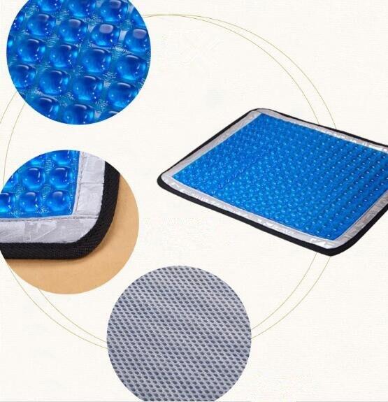 36*42 cm Gel tapis de refroidissement été glace refroidissement siège coussin de Massage chaise pad