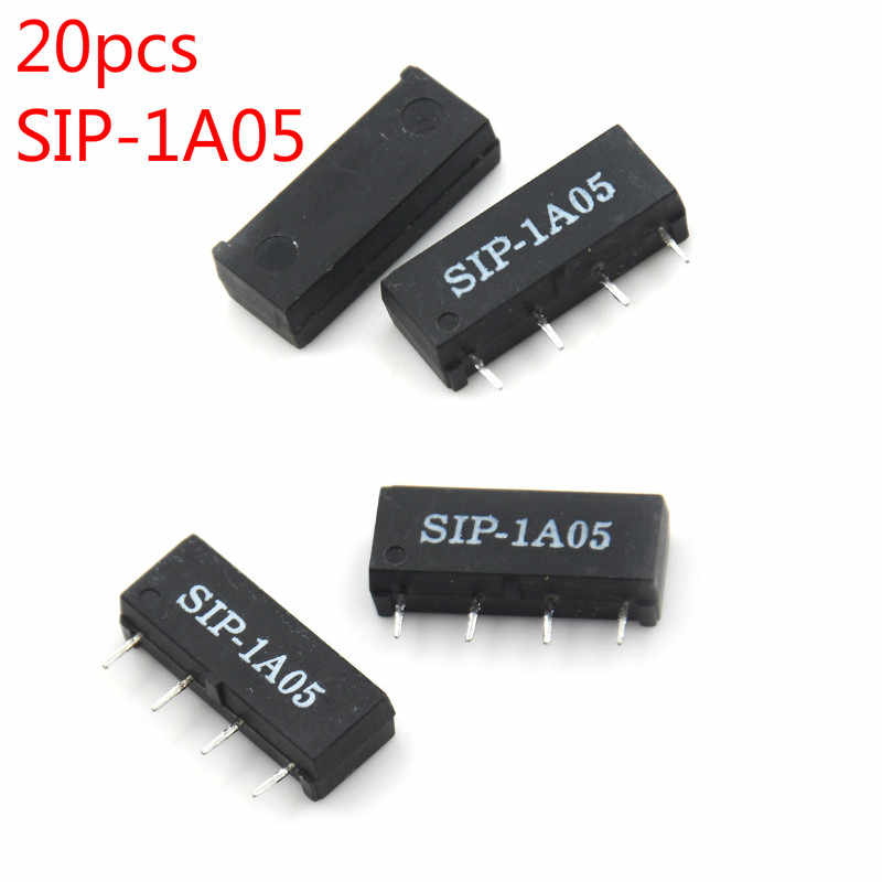 5PCS 4PIN 5V Relay SIP-1A05 Reed Switch Relay For BYN CHANG Relay B/< CKTP