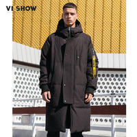 VIISHOW Thick winter   down   jacket men warm New Fashion brand clothing Top quality Long Male 80% Gray duck   down     coat   YC2659174-XXL