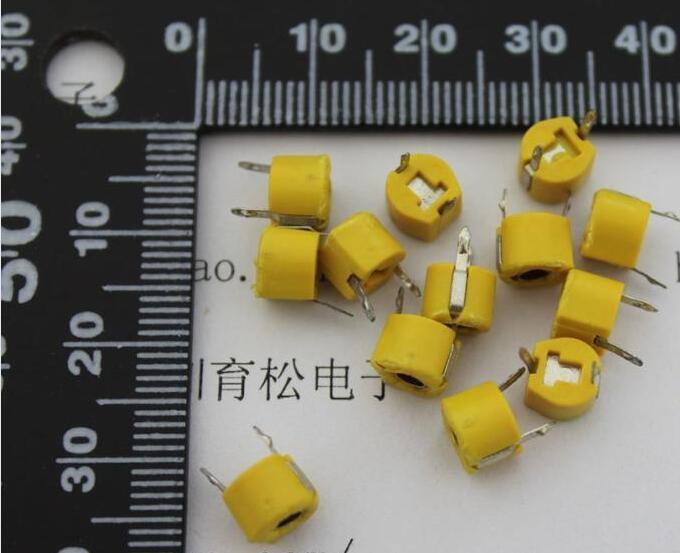 20 шт./лот 40P Регулируемый емкостный триммер, переменный конденсатор, пластик 6 мм, JML06-1-40P