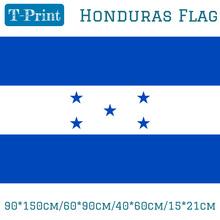 Free shipping 90*150cm/60*90cm/40*60cm/15*21cm Honduras Flag Polyester Celebration Decoration Shipping