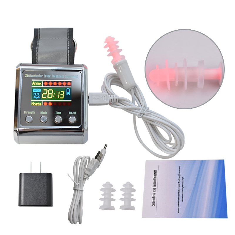 Laser Therapy Device LLLT For Diabetes Rhinitis Cholesterol Hypertension Cerebral Thrombosis Health Physiotherapy Apparatus diode 650nm laser lllt physiotherapy therapy watch for diabetes cholesterol hypertension cerebral thrombosis rhinitis treatment