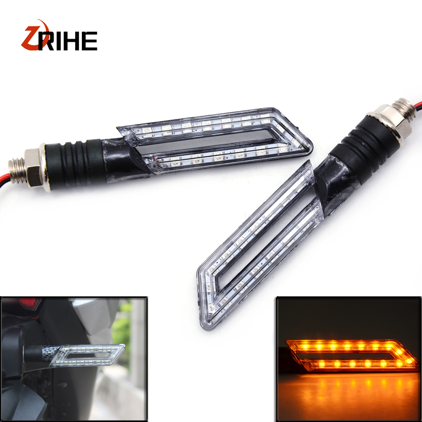 Turn Signal For Yamaha YZF R1 R3 R6 R15 R25 R125 R1M 12V Motorcycle LED high performance Amber high Light Indicator