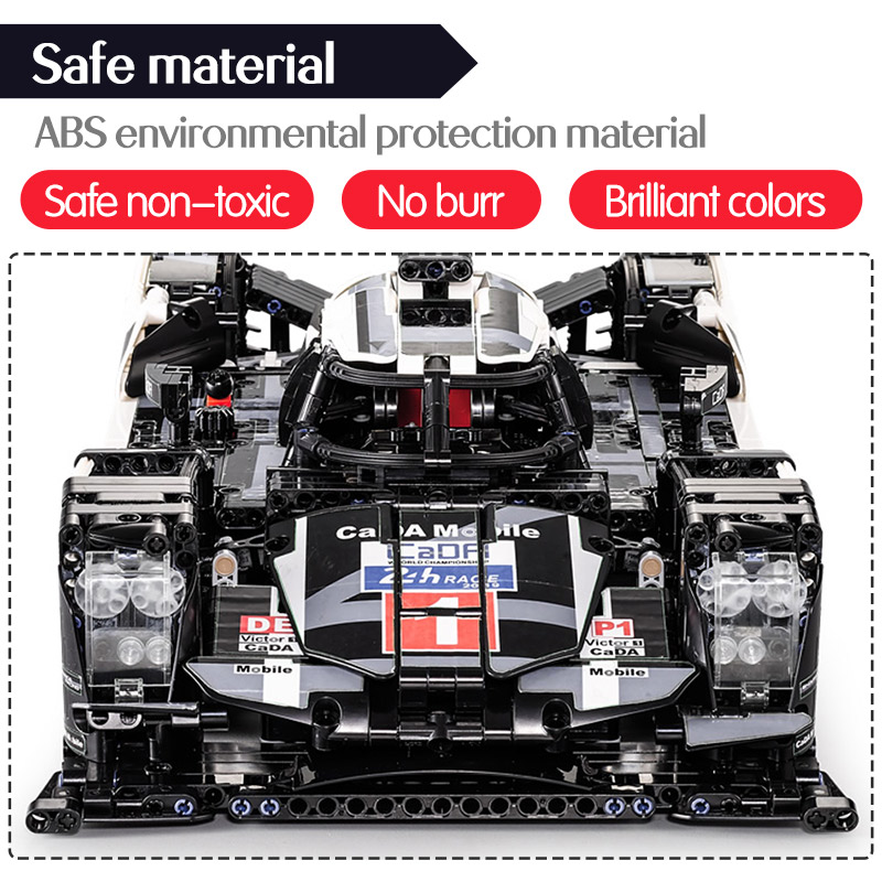 CADA Ausdauer RC Auto Bricks Kompatibel für legoingly Technik MOC Modell Bausteine Fernbedienung Auto Racing Spielzeug Für jungen - 5