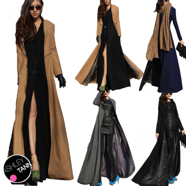 Full length coat for ladies – Modern fashion jacket photo blog