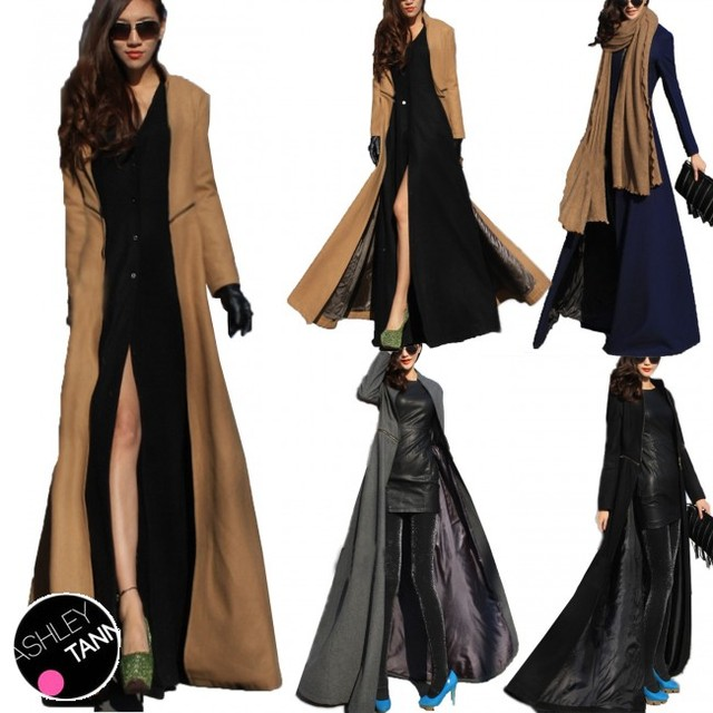 Assorted Color Womens Dress Trench Winter Short Cardigan Stylish ...