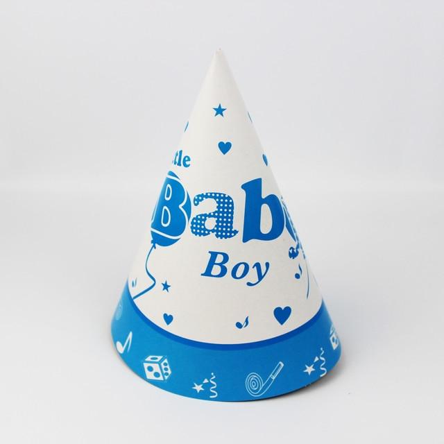 12 Stucke Happy Birthday Party Dekoration Niedlichen Kind Ein Kleines Baby Boy Cartoon Muster Geburtstags