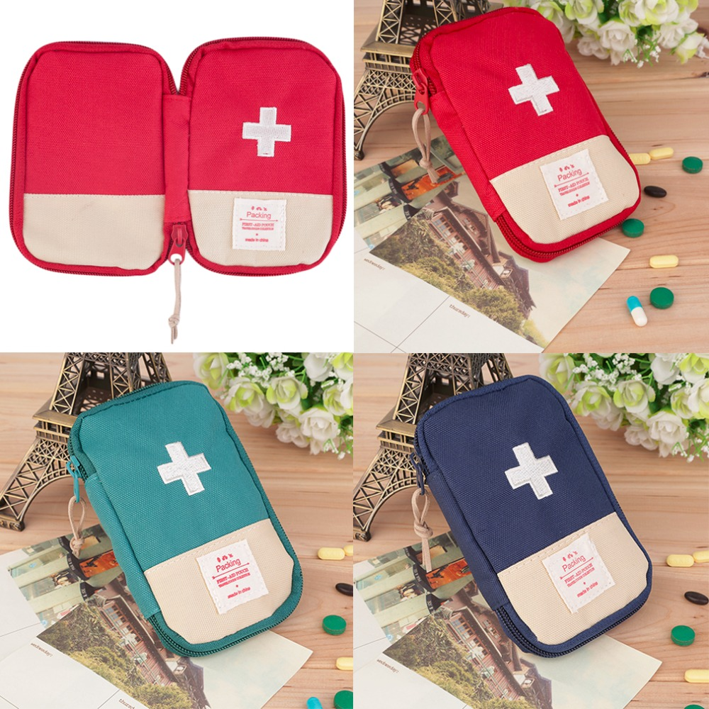 New for Outdoors top Home Survival Portable First Aid Kit bag Case top quality  free shipping new gbj free shipping home aluminum medical cabinet multi layer medical treatment first aid kit medicine storage portable