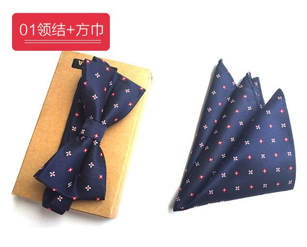 Apparel Accessories Independent Cityraider Brand New Floral Print Red Dot Designer Necktie Mens Silk Ties For Men Handkerchief With Bow Tie Match 2pcs Set Cr015 To Produce An Effect Toward Clear Vision