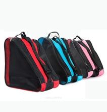 Best Selling ! HOT 2016 NEW Kids Adult Roller Skate Bag Portable Carry Bag Shoulder Bag Big Capacity Gift  38x38x20cm One Piece