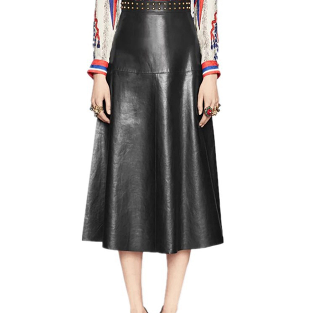 Popular Leather Maxi Skirt-Buy Cheap Leather Maxi Skirt lots from ...