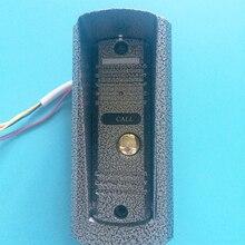 Металл Видео-телефон двери видео домофон Открытый doorring домофона ИК-Камеры дверной звонок Входной машины