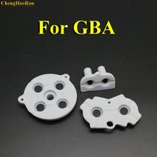 5 20 conjuntos de substituição para nintendo gameboy advance gba games console almofadas de silicone almofada condutora de borracha