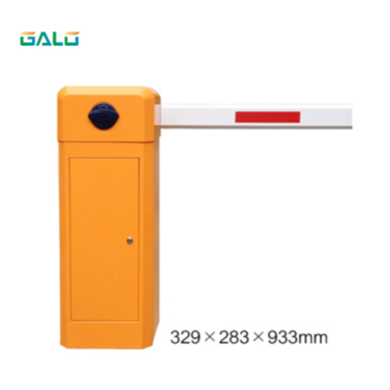 Barrier gate for car park management and vehicle controlBarrier gate for car park management and vehicle control