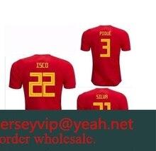 9026ddf5d 2019 adults T-shirt Camisa Spain shirts 2018 shirts Best Quality RAMOS  MORATA ISCO ASENSIO