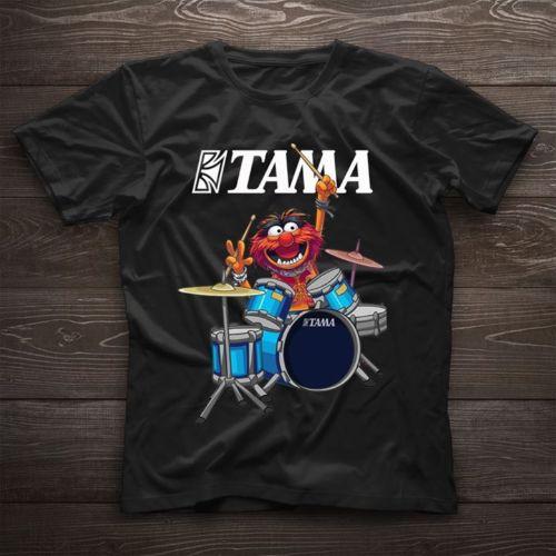 Tama Os Muppets T Shirt Engraçado Muppets Homens camisa Dos Desenhos Animados t de Algodão Preto homens Unisex Nova Moda tshirt frete grátis