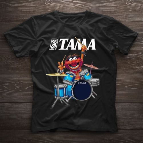 Tama The Muppets   T     Shirt   Funny Muppets Black Cotton Men Cartoon   t     shirt   men Unisex New Fashion tshirt free shipping