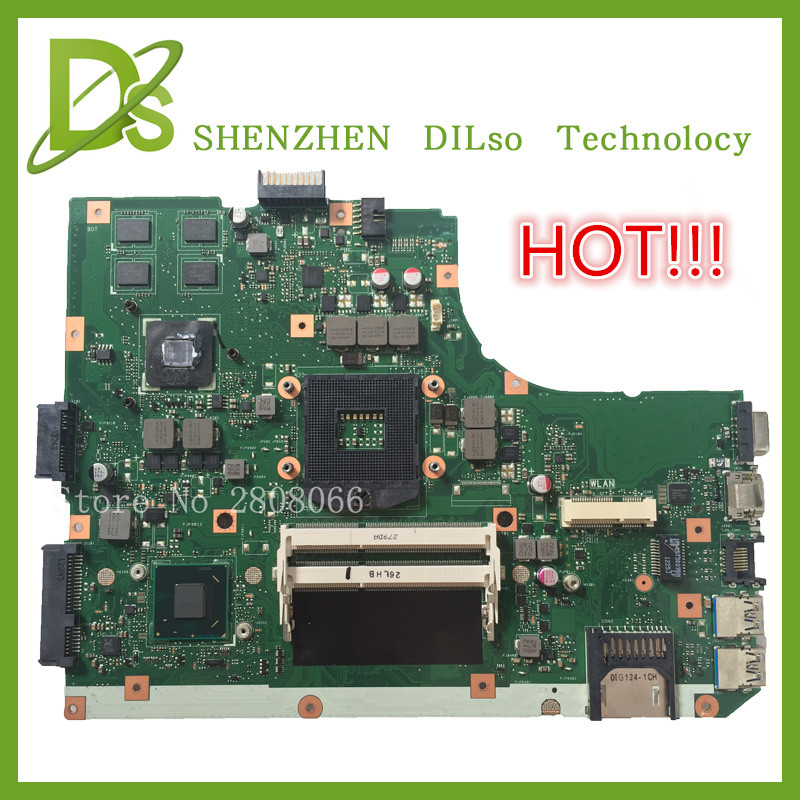 HOT!!!For K55VD A55V mainboard REV3.1  For ASUS K55VD A55V motherboard Non-Integrated with graphics