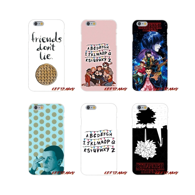 finest selection 452b5 df1d5 US $0.99 |Accessories Phone Cases Covers Christmas lights stranger things  For iPhone X 4 4S 5 5S 5C SE 6 6S 7 8 Plus-in Half-wrapped Case from ...
