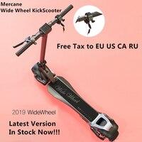2019 nuevo Mercane WideWheel Scooter eléctrico inteligente plegable rueda ancha 48 V 500 W Kickscooter dos ruedas Motor monopatín