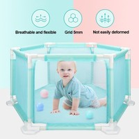 CACX Plastic Baby Playpens For Kids Baby Safe Fence Pool Balls Children's Tent For Baby Safety Barriers For 0 36 Months Children