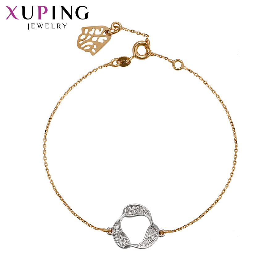 Xuping Fashion Elegant Design Bracelets Charm Style Bracelets for Women Girls Imitation  ...