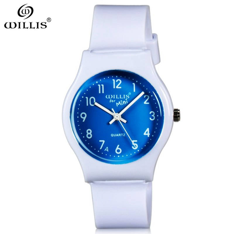 WILLIS Top Brand women Fashion High Quality Casual Simple Style Silicone Strap Quartz Watches Women clock waterproof WristWatch free drop shipping 2017 newest europe hot sales fashion brand gt watch high quality men women gifts silicone sports wristwatch