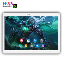 2018 Newest 2 5D Screen 10 Inch Tablet Octa Core Android 7 0 RAM 4GB ROM