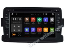 WITSON Android 5.1 Quad Core CAR DVD palyer for RENAULT DUSTER RADIO STEREO SAT NAVI+1024X600 HD+DVR/WIFI/3G+DSP+RDS+16GB flash