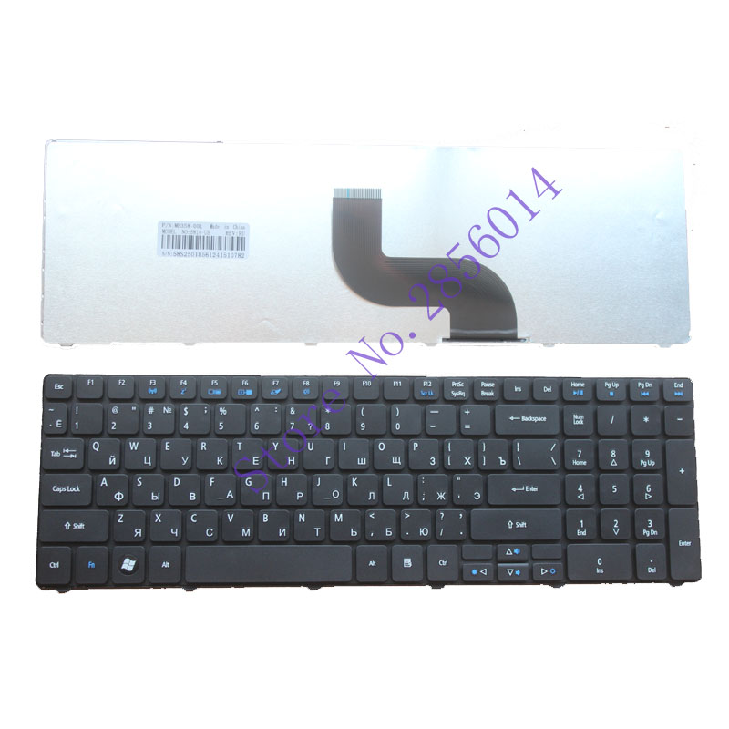 NEW Keyboard for Acer Aspire 5740G 5740Z 5741 5741G 5742 5742g 5742Z 5745G 5745 5745P 5800 5250 RU laptop keyboard new70 la 5892p fit for acer aspire 5742 5742g laptop motherboard mbpsv02001 mb psv02 001 pga988