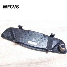 Big sale WFCVS car camera rearview mirror auto dvrs cars dvr dual lens dash cam recorder With night vision