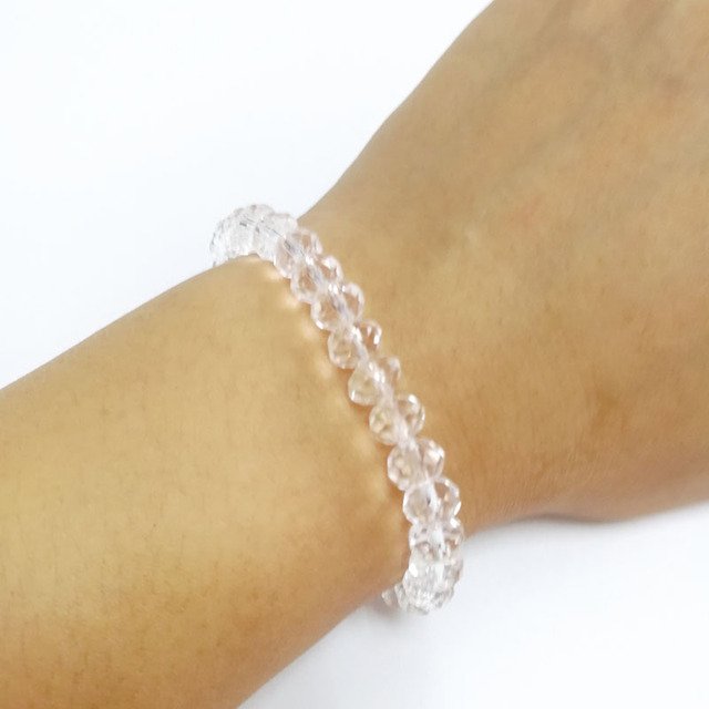 5885b0f56c60e7 Transparent Crystal Bracelet Hot sale transparent bracelet womens fashion  Jewelry hot sale cheap price Jewelry Strand Bracelet
