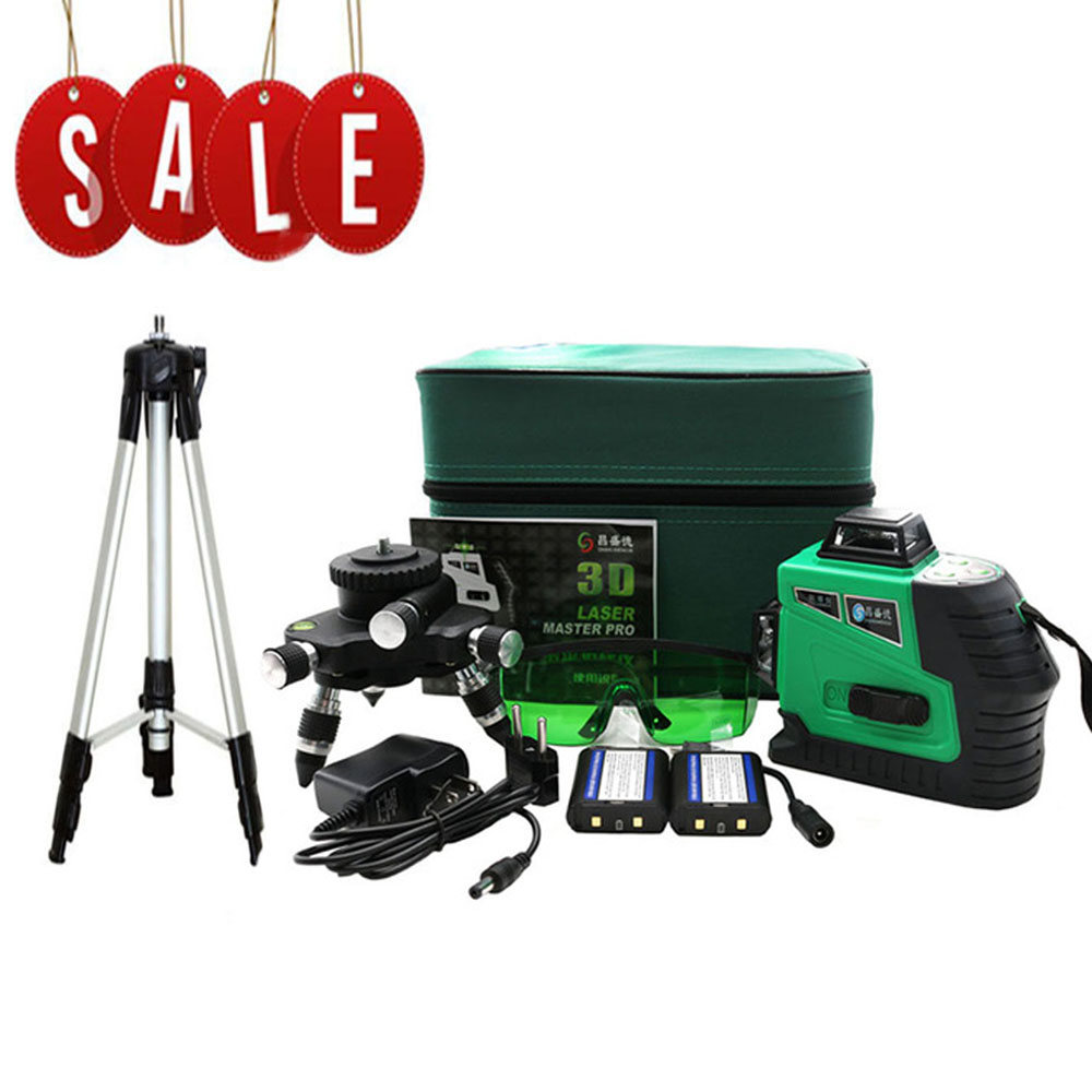 Green 12 Line 3D laser level 360 Vertical And Horizontal Laser Level Self-leveling Cross Line 3D Green Laser Level with outdoorGreen 12 Line 3D laser level 360 Vertical And Horizontal Laser Level Self-leveling Cross Line 3D Green Laser Level with outdoor