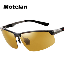 Men's Day Night Photochromic Polarized Sunglasses Man Sunglasses for Drivers Male Safety Driving Fishing UV400 Sun Glasses