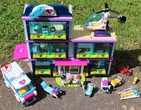 New HeartLake love Hospital girls fit legoings Friends figures city model Building Blocks bricks 41318 gift kid girls Toys