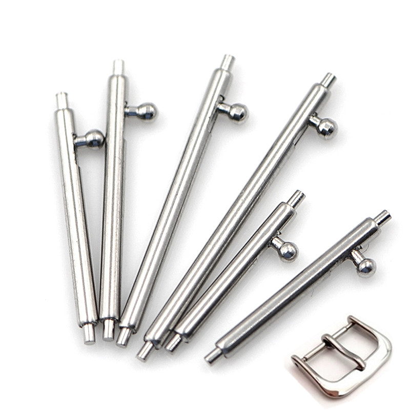 10pcs/lot Hot Stainless Steel Quick Release Watch Band Single Switch Spring Bars Strap Link Pin 16mm 18mm 20mm 22mm 24mm