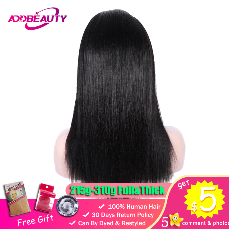 2 3 Bundles With 4x4 Lace Closure Wigs For Black Women 180 250 Density Straight Brazilian