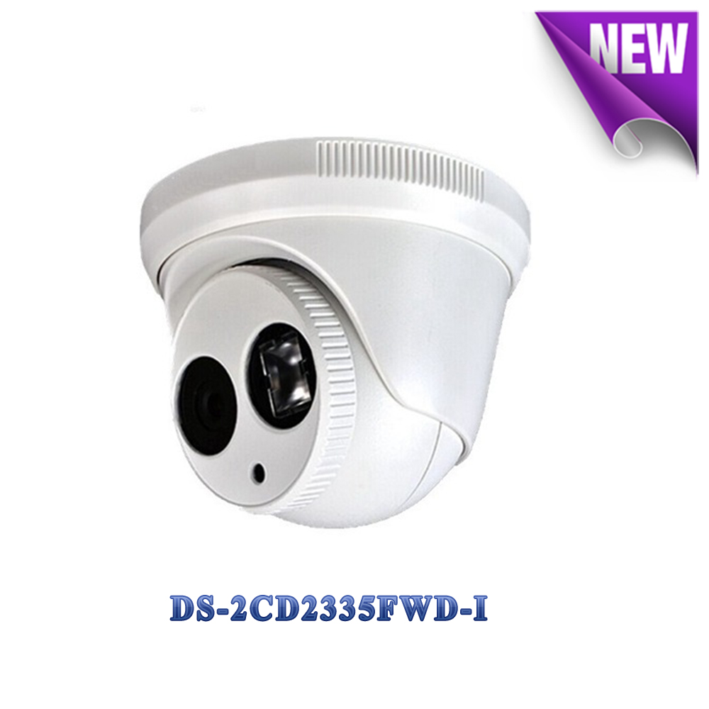 English version DS-2CD2335FWD-I ip camera 3MP Ultra-low light network turret cctv camera POE, 30M IR, H.265 security camera