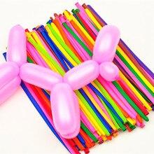 10pcs 30cm 260Q Latex Long Balloons Magic Air Ball Balloon For Modeling Birthday Wedding Party Decoration Kid Children Float Toy