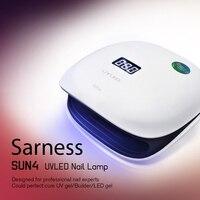 Sarness Machine for Home Use Nails Art Tools 48W Nail Dryer LED UV Lamp Micro Nail Gel Polish Curing Semi Permanent Led Nail Gel