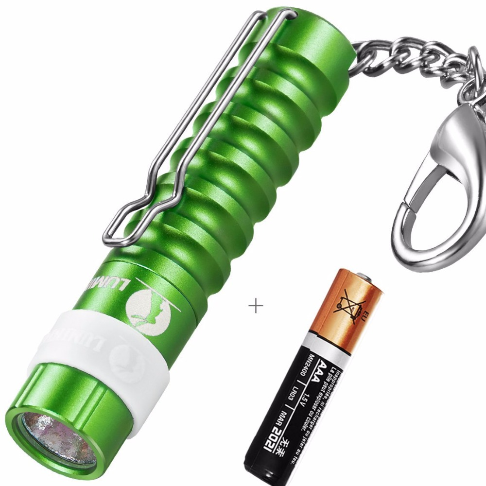 LUMINTOP Mini Worm+1x AAA Battery Flashlight 110 Lumens Keychain Flashlight with clip +  Cree LED Tool Pocket Torch ultrafire uf 3a cree xp e 70 lumens led flashlight with clip mini portable penlight torch lantern fit with 2 aaa battery