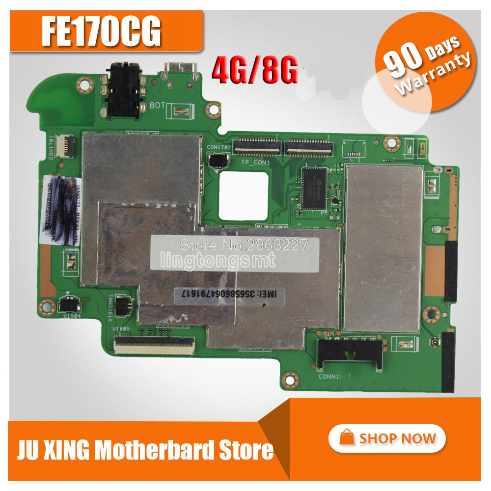 For Asus FE170CG Tablet PC motherboards FonePad 7 FE170CG FE170C FE170 4GB 8G Mobile phone New ultra stable Logic board