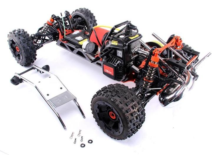 Baja 5b off road gas buggy 5t sc ss metal quick release roll cage 950031 metal quick release roll cage
