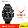 Оригинальный Ticwatch Pro Bluetooth Смарт-часы IP68 Водонепроницаемый поддержка nfc-платежей/Google Assistant одежда OS & nbsp; Google GPS часы